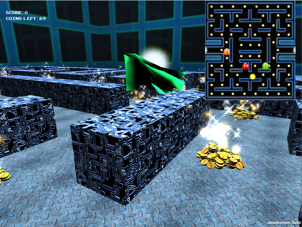 Pacman Game Screenshot made by Jan Schlosser