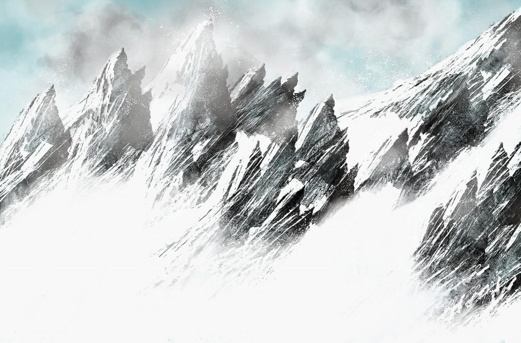 Snowy Mountains - Concept Art