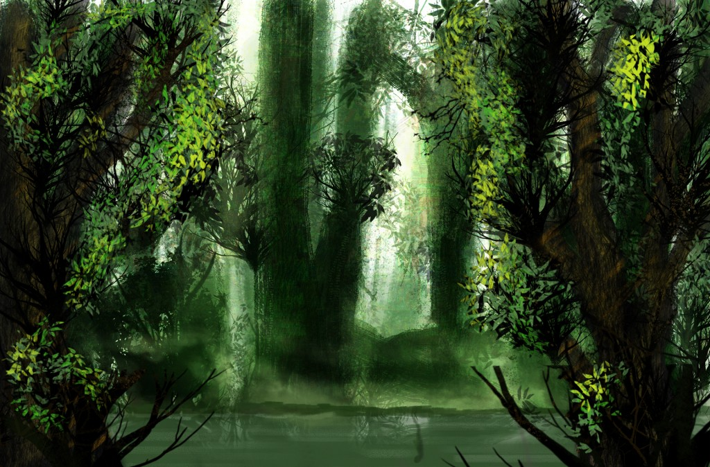 Swamp Forest - Concept Art