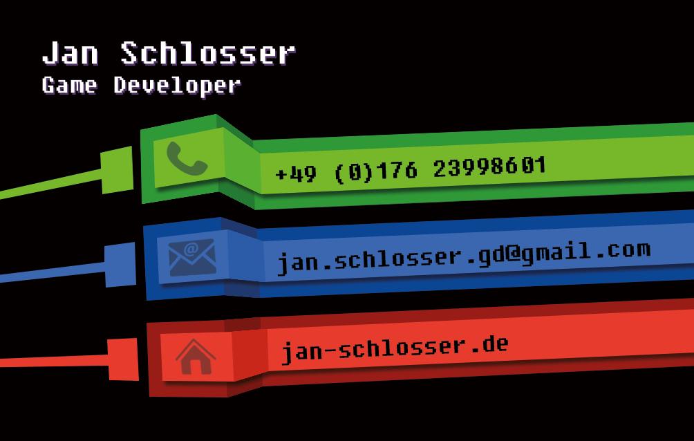Business Card Jan Schlosser