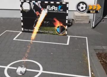 Screenshot linking to AR Soccer