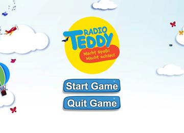 Screenshot linking to Radio Teddy Endless Runner Page
