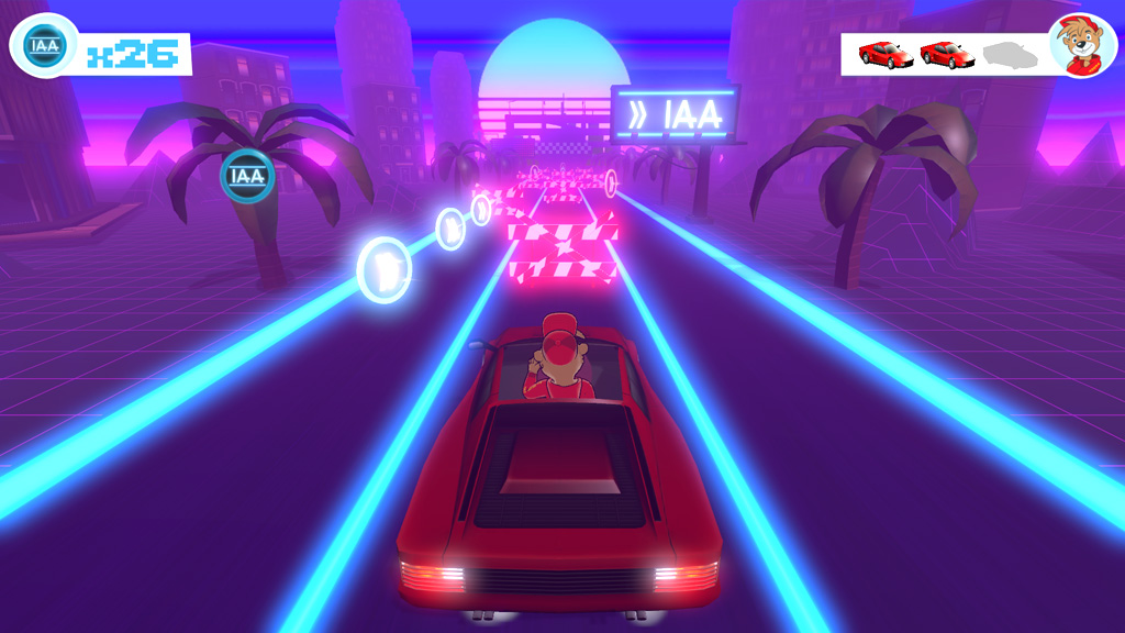 IAA Motor Show Frankfurt Game Screenshot