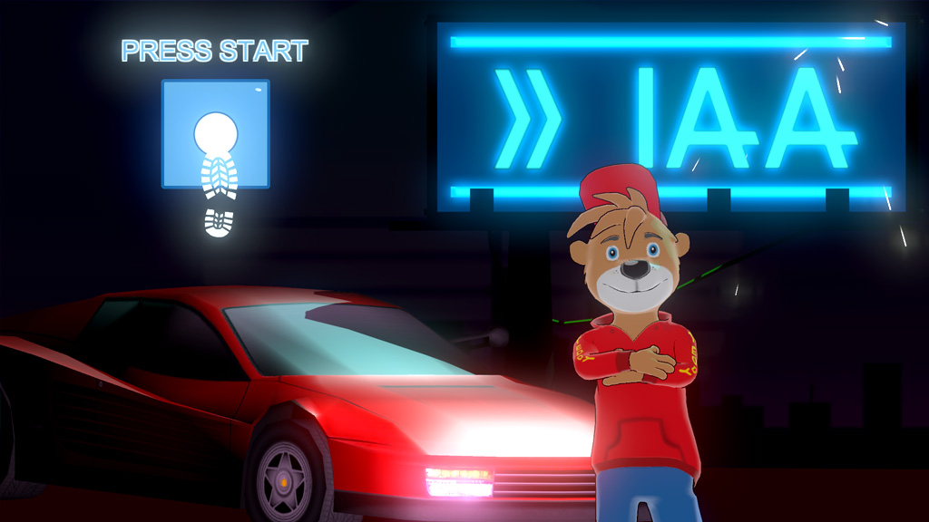 IAA Motor Show Frankfurt Game Screenshot Menu
