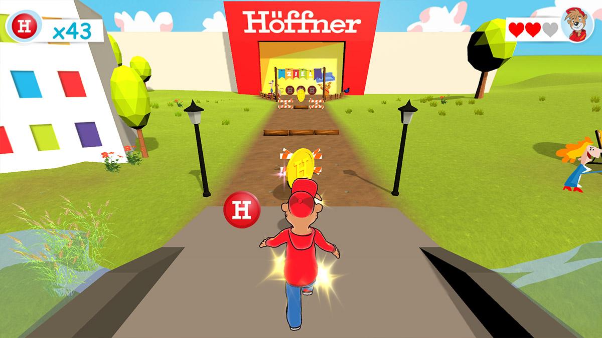 Radio Teddy endless runer game Screenshot 2
