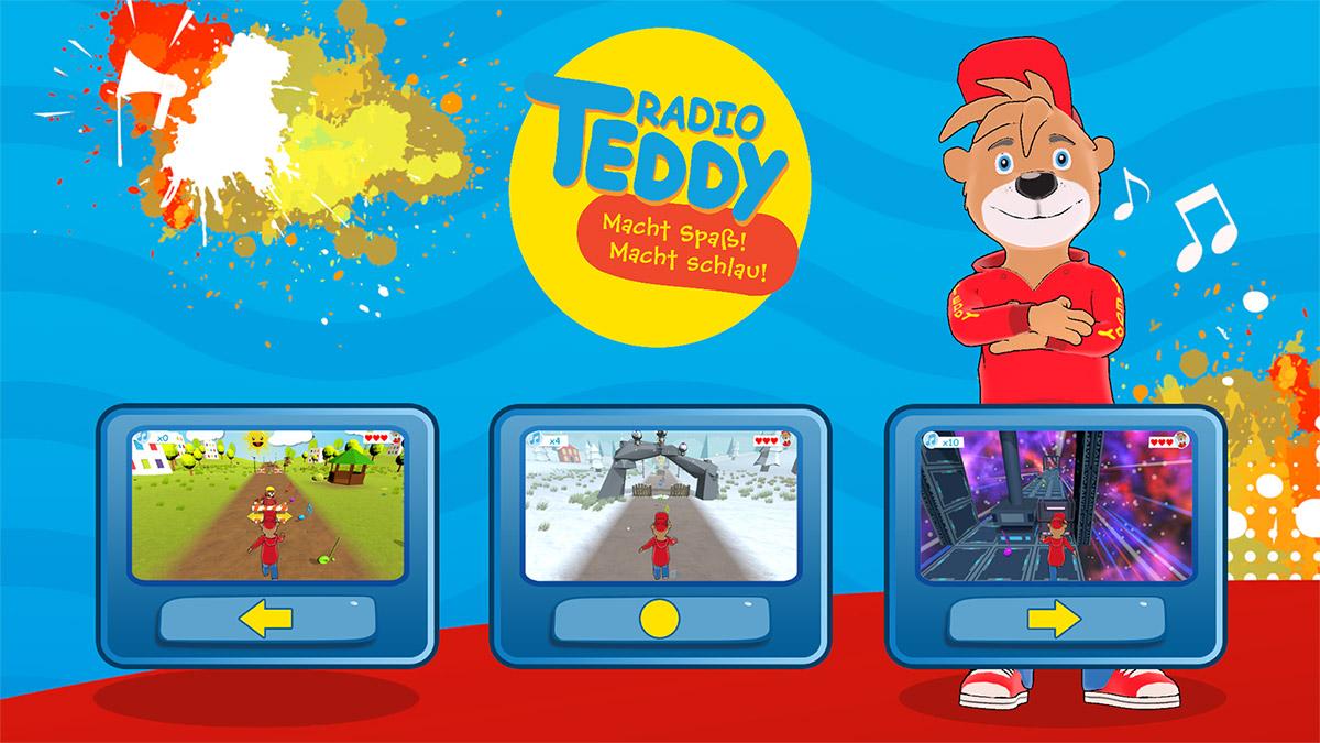 Radio Teddy Endless Runner Screenshot