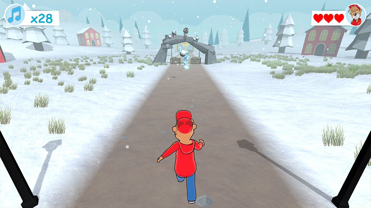 Radio Teddy Endless Runner Screenshot