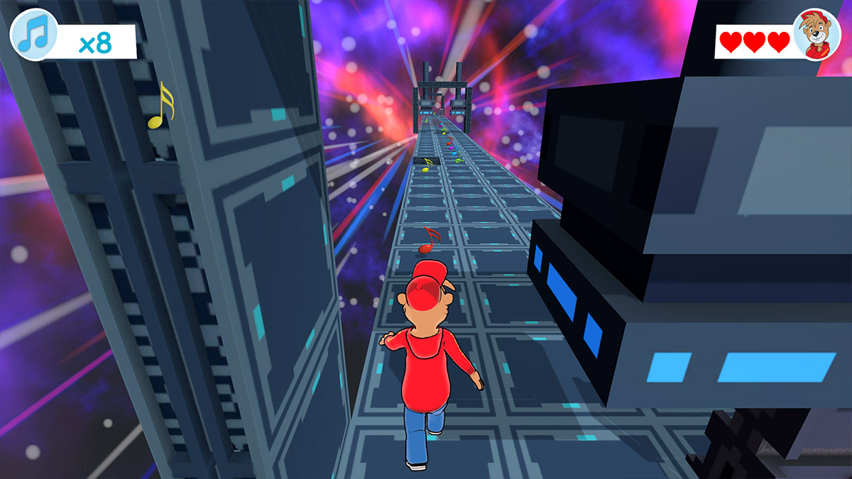 Radio Teddy Endless Runner Screenshot 2