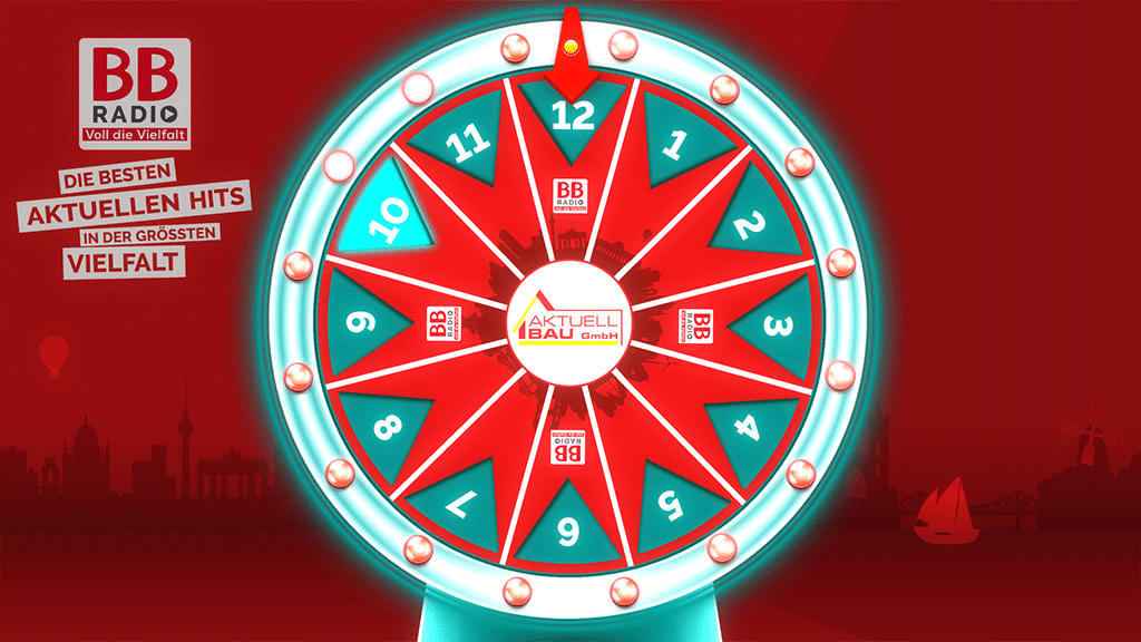BB Radio Fortune Wheel Game Screenshot