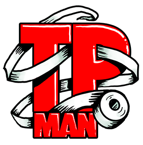 Logo for the game Toilet Paper Man